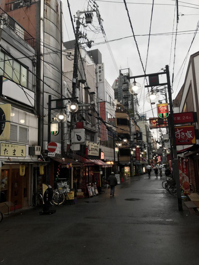 img 0069 768x1024 Osaka (1/3) : orgie alimentaire, cerisiers précoces, pluie, et shopping