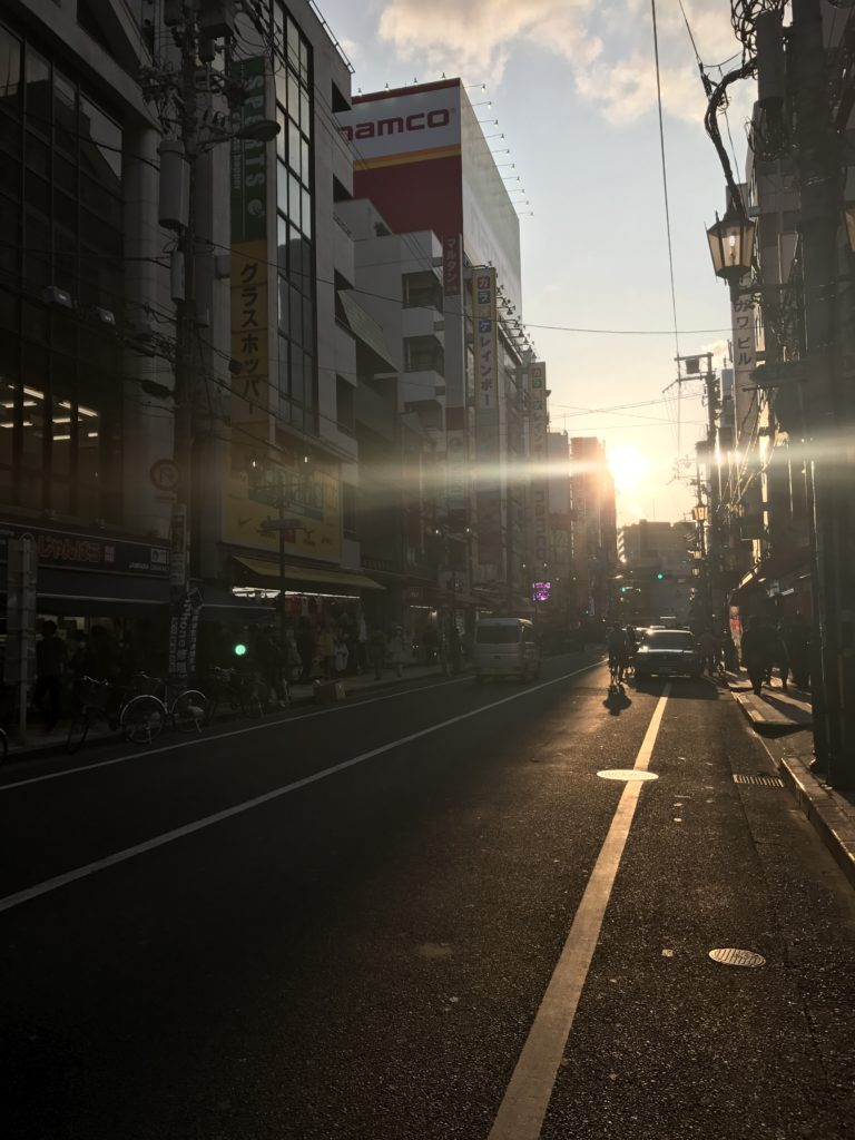 img 0263 768x1024 Osaka (1/3) : orgie alimentaire, cerisiers précoces, pluie, et shopping