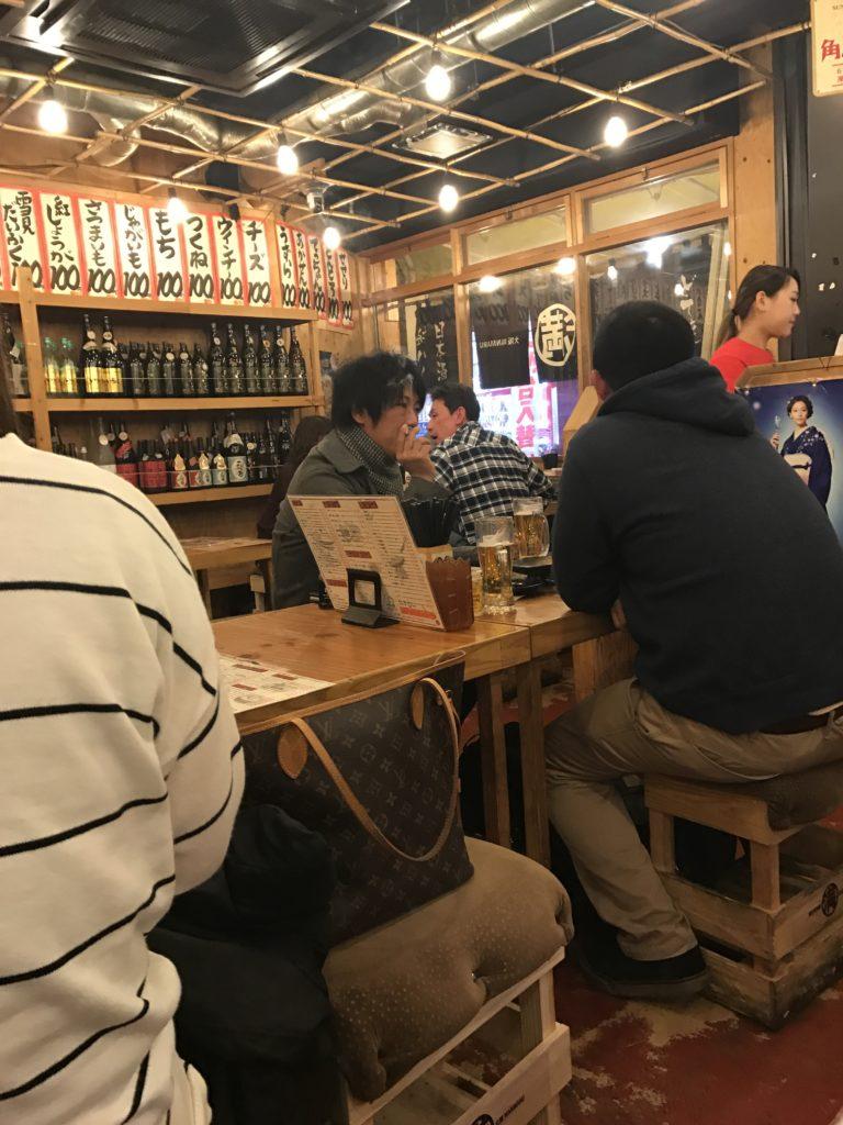 img 0432 768x1024 Osaka (1/3) : orgie alimentaire, cerisiers précoces, pluie, et shopping