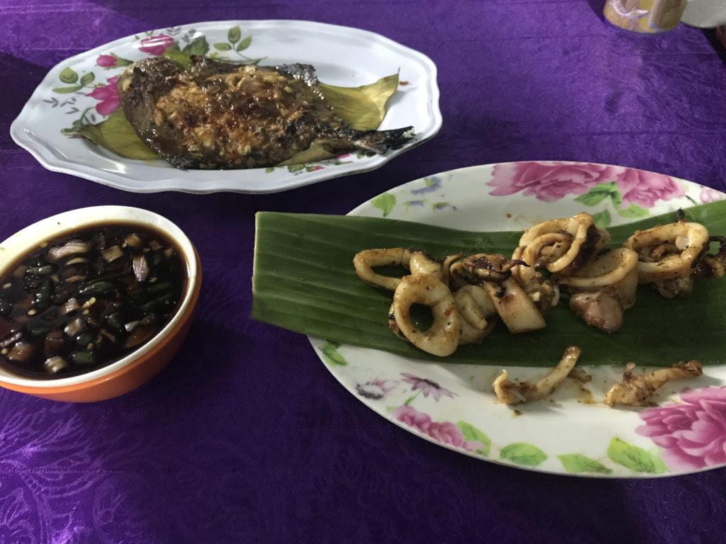 img 3900 1024x768 Tioman : PADI et fruits de mer