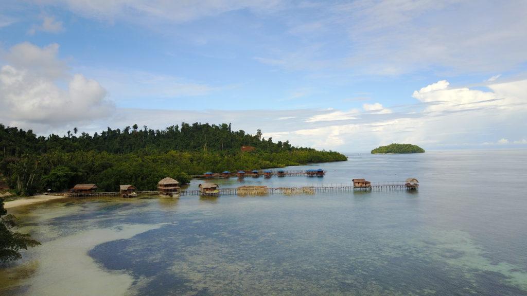 DJI 0513 1024x576 Raja Ampat : un paradis sur terre (... quand la météo est daccord)