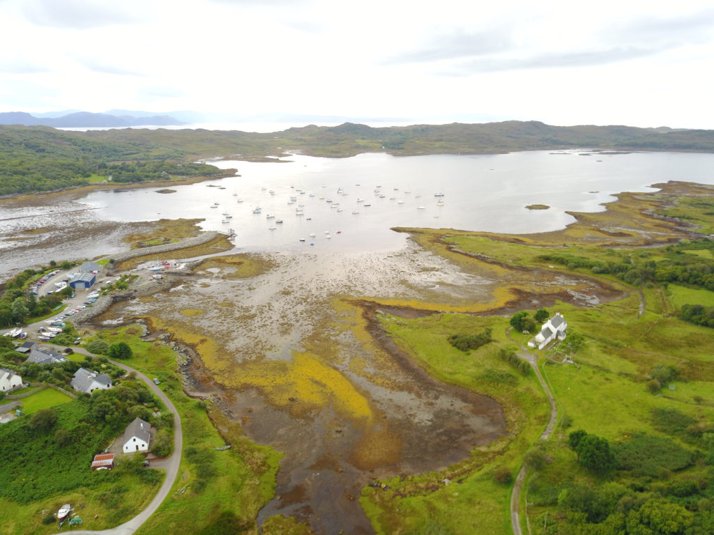 DJI 0918 1024x768 Loch Lomond et la région de Glencoe