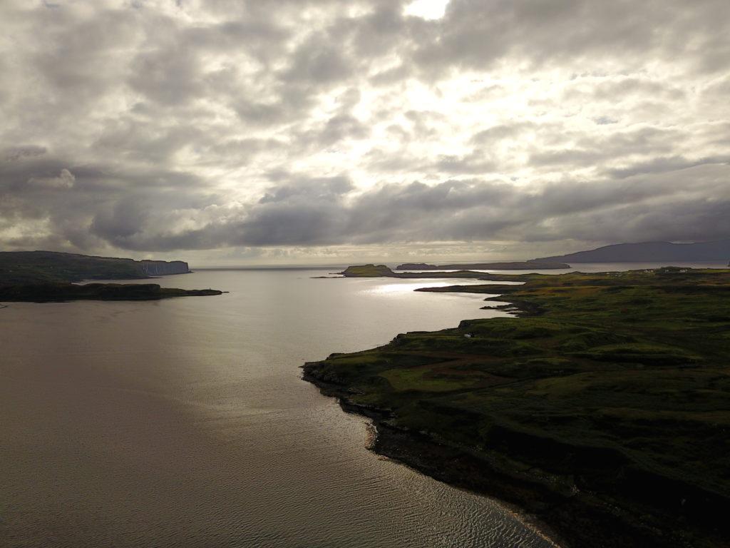 DJI 0985 1024x768 Île de Skye : Châteaux, Moutons et Merveilles