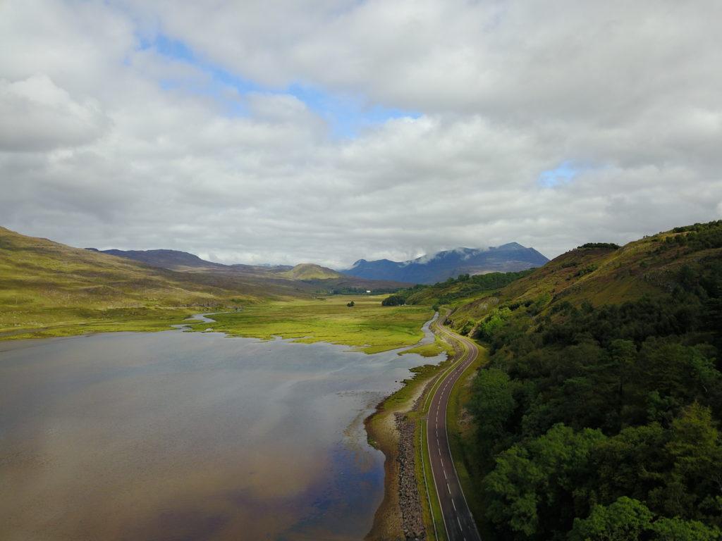 DJI 0016 1024x768 Ross Occidental : entre les lacs, les montagnes et la mer